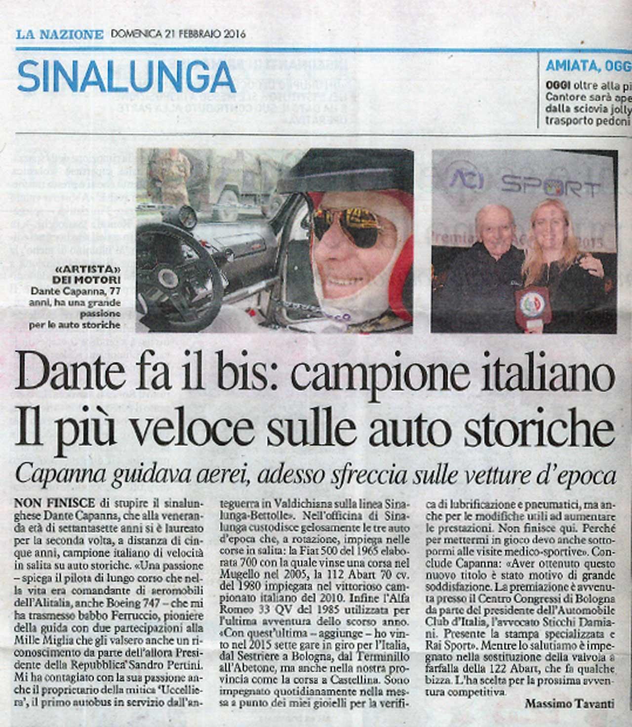 Articolo-Dante-Capanna-Scuderia-Campidoglio-Campione
