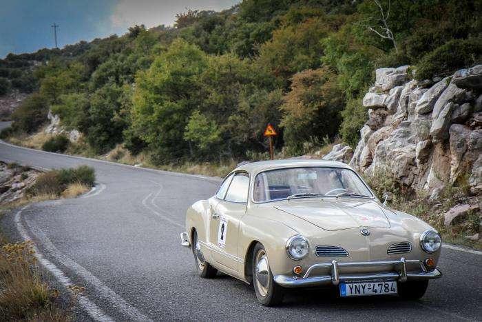 Karmann Ghia - Tour del Peloponneso