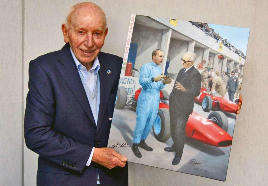 John Surtees - Scuderia Campidoglio Ferrari 50° Anniversario